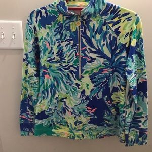 Lilly Pulitzer Wade and Sea Popover XS